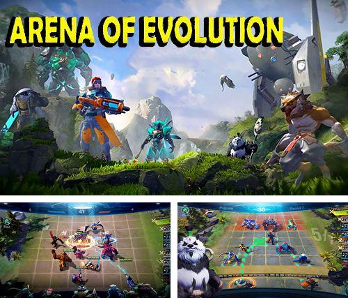 Download Arena of evolution iPhone free game.