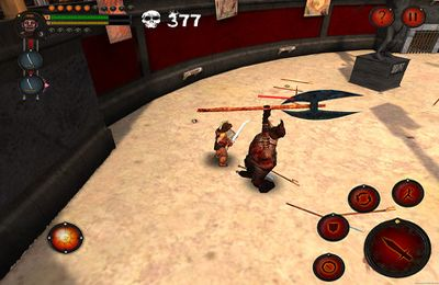 Screenshots of the Arena of the Undead game for iPhone, iPad or iPod.