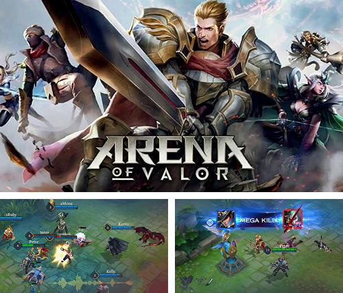 In addition to the game Dropsy for iPhone, iPad or iPod, you can also download Arena of valor for free.