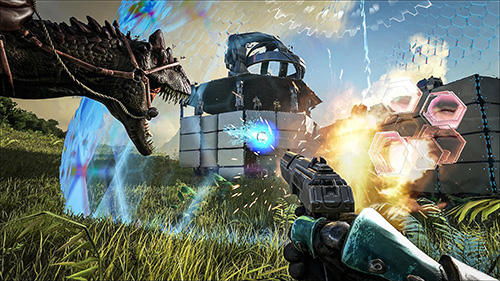 Capturas de pantalla del juego Ark: Survival evolved para iPhone, iPad o iPod.