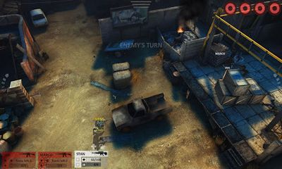 Screenshots of the Arma Tactics game for iPhone, iPad or iPod.