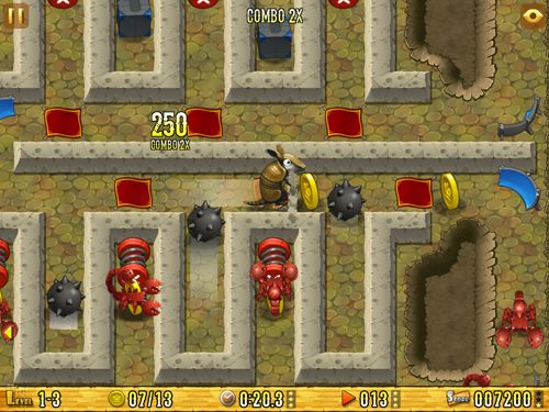 Download Armadillo: Gold rush iPhone free game.