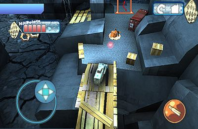 Écrans du jeu Armor of War 3D pour iPhone, iPad ou iPod.