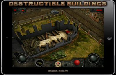 Screenshots vom Spiel Armored Combat: Tank Warfare Online für iPhone, iPad oder iPod.