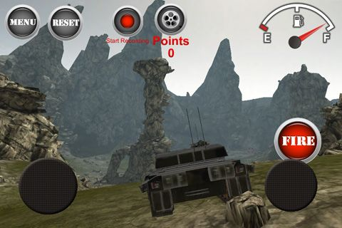 Download Armored tank: Assault 2 iPhone free game.