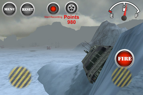 Capturas de pantalla del juego Armored tank: Assault 2 para iPhone, iPad o iPod.