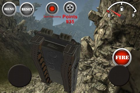 Screenshots of the Armored tank: Assault 2 game for iPhone, iPad or iPod.