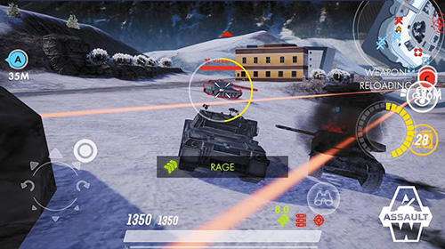 Descarga gratuita de Armored warfare: Assault para iPhone, iPad y iPod.