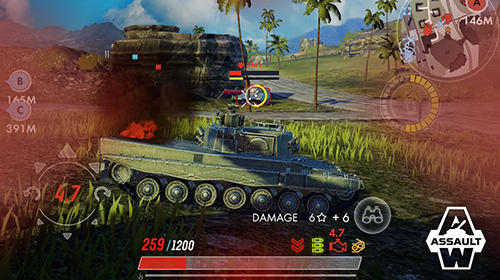 Capturas de pantalla del juego Armored warfare: Assault para iPhone, iPad o iPod.