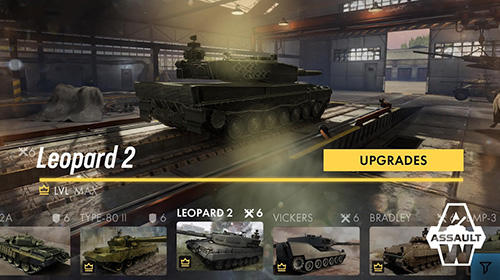 Screenshots do jogo Armored warfare: Assault para iPhone, iPad ou iPod.