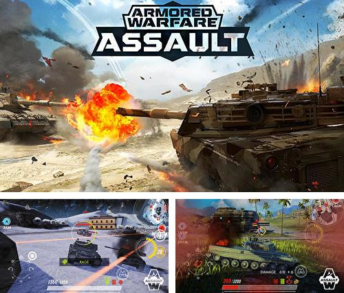 En plus du jeu Joe Cosmique pour iPhone, iPad ou iPod, vous pouvez aussi télécharger gratuitement Guerre blindée: Assaut , Armored warfare: Assault.