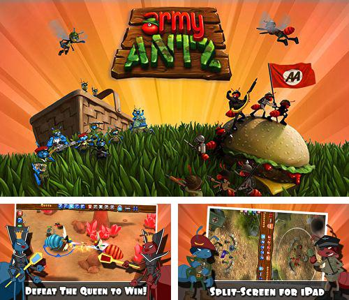 In addition to the game Asphalt street storm racing for iPhone, iPad or iPod, you can also download Army antz for free.