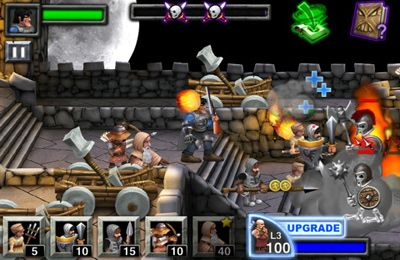 Kostenloser Download von Army of Darkness Defense für iPhone, iPad und iPod.