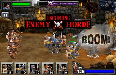 Screenshots vom Spiel Army of Darkness Defense für iPhone, iPad oder iPod.