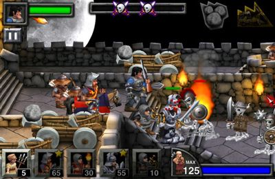 Screenshots of the Army of Darkness Defense game for iPhone, iPad or iPod.