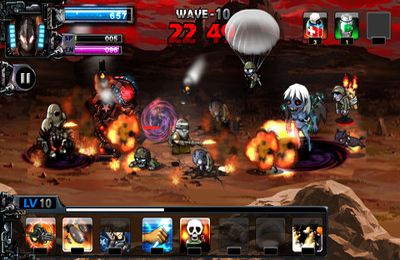 Descarga gratuita de Army Vs Zombie para iPhone, iPad y iPod.