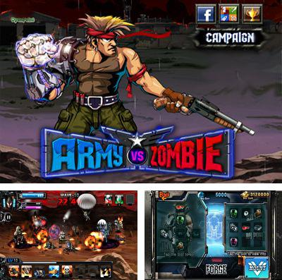 In addition to the game Back to eggs for iPhone, iPad or iPod, you can also download Army Vs Zombie for free.