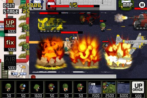 Descarga gratuita de Army: Wars defense para iPhone, iPad y iPod.