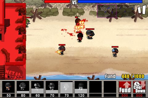 Free Army: Wars defense 2 download for iPhone, iPad and iPod.