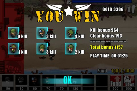 Screenshots of the Army: Wars defense 2 game for iPhone, iPad or iPod.