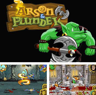 In addition to the game Atlantis adventure for iPhone, iPad or iPod, you can also download Arson & Plunder for free.