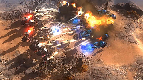 Screenshots do jogo Art of war: Red tides para iPhone, iPad ou iPod.