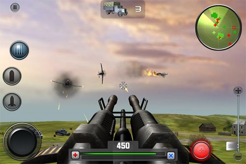 Screenshots of the Artillery brigade game for iPhone, iPad or iPod.