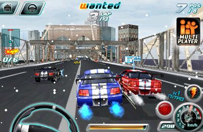 Скачати Asphalt 4: Elite Racing на iPhone безкоштовно.