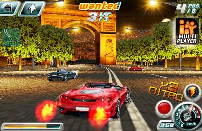 Descarga gratuita de Asphalt 4: Elite Racing para iPhone, iPad y iPod.