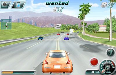 Capturas de pantalla del juego Asphalt 4: Elite Racing para iPhone, iPad o iPod.