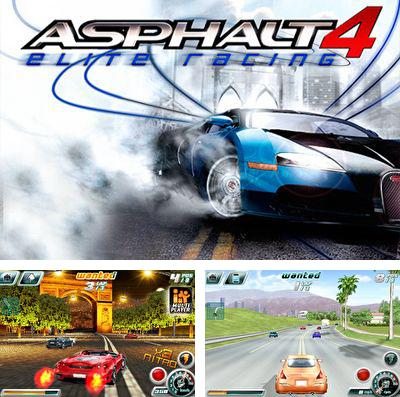 Download Asphalt 4: Elite Racing iPhone free game.