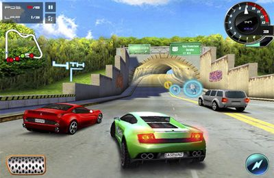 Download Asphalt 5 iPhone free game.