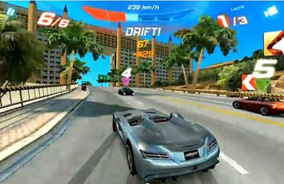 Download Asphalt 6 Adrenaline iPhone free game.