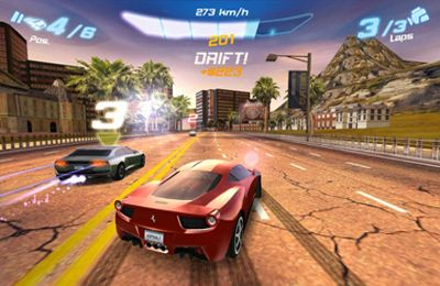 Descarga gratuita de Asphalt 6 Adrenaline para iPhone, iPad y iPod.