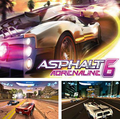 In addition to the game Crash drive 3D for iPhone, iPad or iPod, you can also download Asphalt 6 Adrenaline for free.