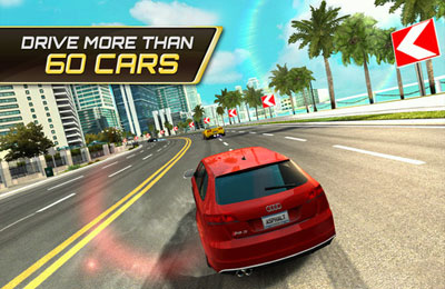 Screenshots of the Asphalt 7: Heat game for iPhone, iPad or iPod.