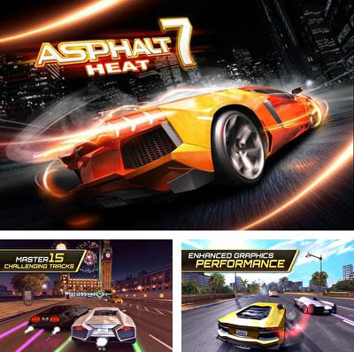 In addition to the game Gardenscapes: Mansion makeover for iPhone, iPad or iPod, you can also download Asphalt 7: Heat for free.