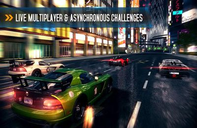 Screenshots of the Asphalt 8: Airborne game for iPhone, iPad or iPod.