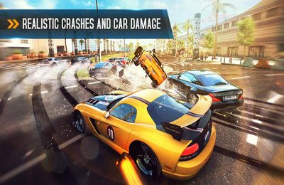Screenshots do jogo Asphalt 8: Airborne para iPhone, iPad ou iPod.
