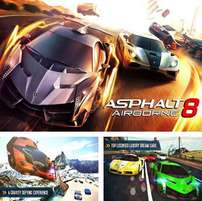 In addition to the game Mike V: Skateboard Party for iPhone, iPad or iPod, you can also download Asphalt 8: Airborne for free.