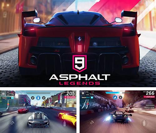 除了 iPhone、iPad 或 iPod 游戏,您还可以免费下载Asphalt 9: Legends, 。