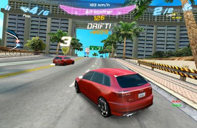 Descarga gratuita de Asphalt Audi RS 3 para iPhone, iPad y iPod.