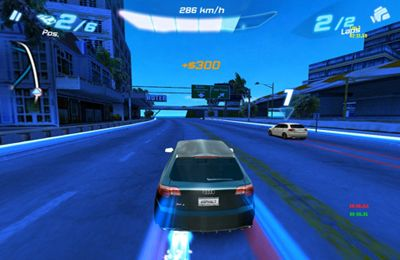 Capturas de pantalla del juego Asphalt Audi RS 3 para iPhone, iPad o iPod.