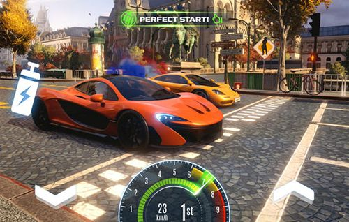 Screenshots of the Asphalt street storm racing game for iPhone, iPad or iPod.