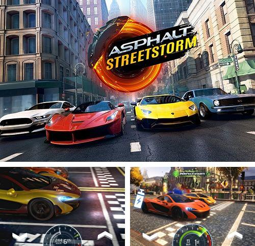 In addition to the game Air Attack HD 2 for iPhone, iPad or iPod, you can also download Asphalt street storm racing for free.