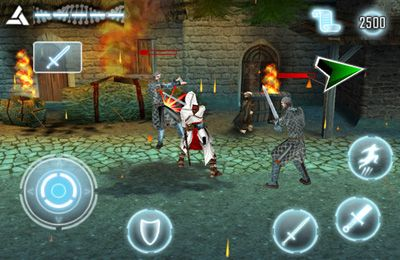 iPhone、iPad 或 iPod 版Assassin's Creed – Alta?r's Chronicles游戏截图。