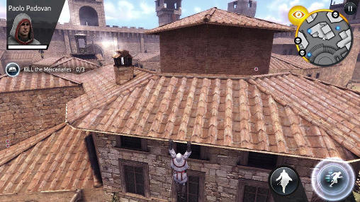 Screenshots of the Assassin's creed: Identity game for iPhone, iPad or iPod.