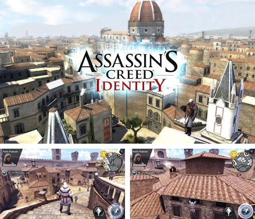 除了 iPhone、iPad 或 iPod 心死游戏,您还可以免费下载Assassin's creed: Identity, 。
