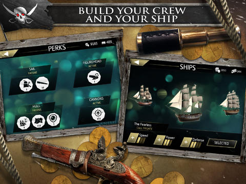 Kostenloses iPhone-Game Assassins Creed: Piraten herunterladen.