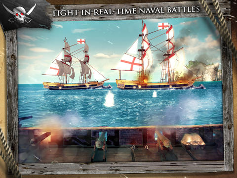 Kostenloser Download von Assassin's Creed Pirates für iPhone, iPad und iPod.